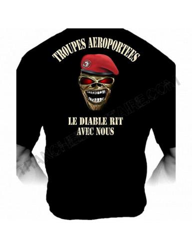 """T-Shirt Légion étrangère """"Marche ou crève"""" (Paratrooper Inc)"""