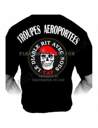 """T-Shirt TAP """"Le Diable rit avec nous"""" Classic"""