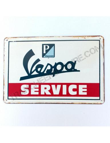 Plaque Vespa