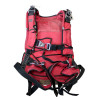 Voilures (2) de parachute ROUGE style parapente + sac