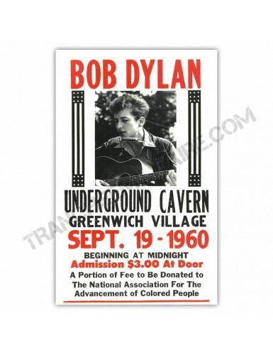 Affiche Bob Dylan