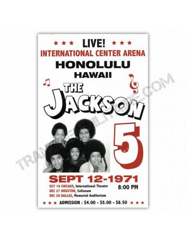 Affiche The Jackson 5