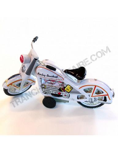 Moto de police Harley