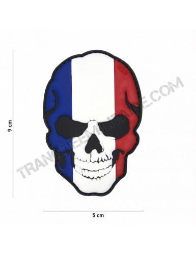 Patch 3D PVC Tête de mort France