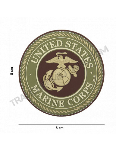 Patch 3D PVC United States Marine Corps