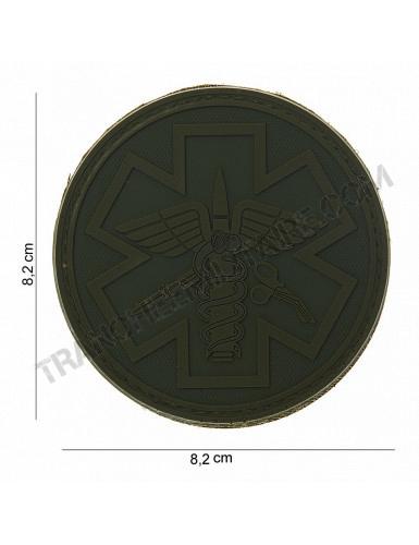 Patch 3D PVC Para Medic (vert)