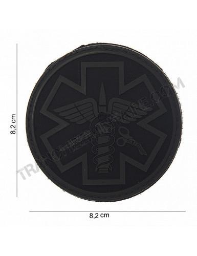 Patch 3D PVC Para Medic (noir)