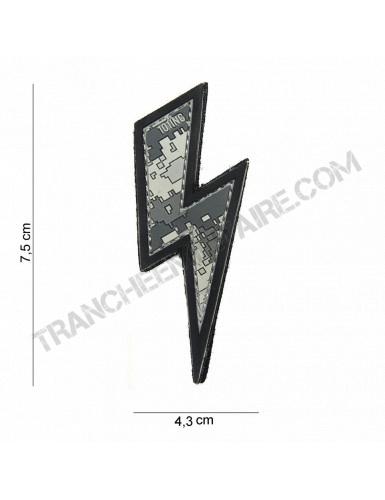 Patch 3D PVC Eclair ACU