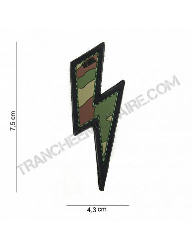 Patch 3D PVC Eclair Woodland