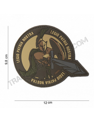 "Patch 3D PVC ""Legio Patria Nostra"" (sable)"