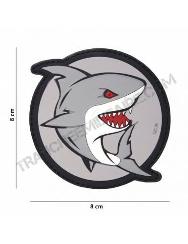 Patch 3D PVC Shark