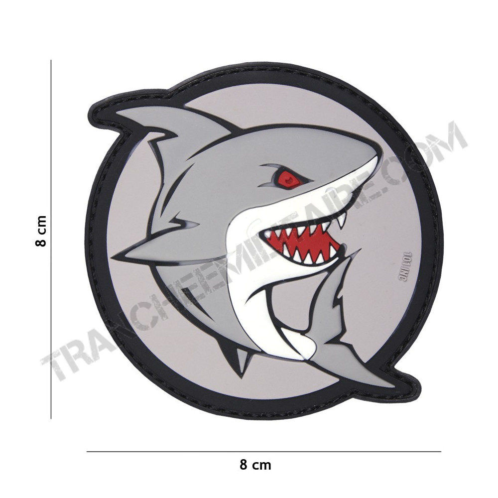 Patch 3D PVC Shark