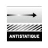 Combinaison SWAT antistatique mat noir