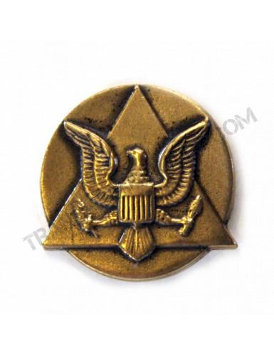 """Bouton de revers """"Prix du commandant"""" US Army"""
