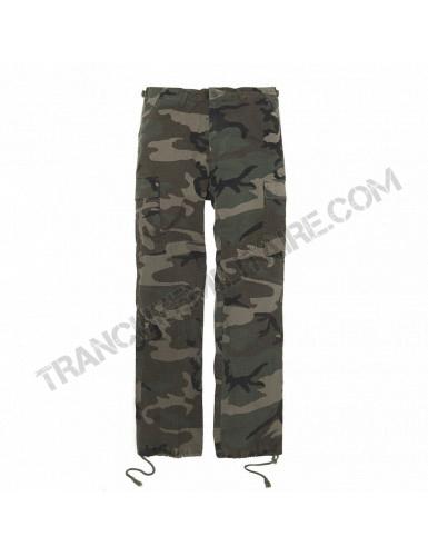 Pantalon BDU Forces RIPSTOP (camouflé)