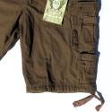 Bermuda style militaire aspect vintage Camouflé (100% coton)