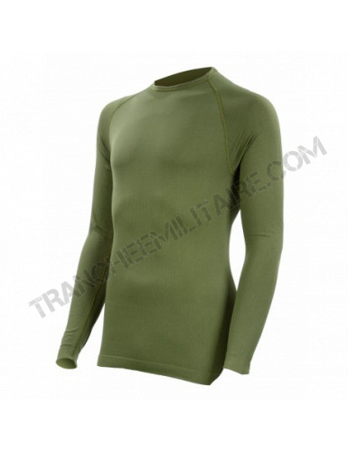Tee-shirt thermorégulant Technical Line Summit Outdoor (vert kaki)