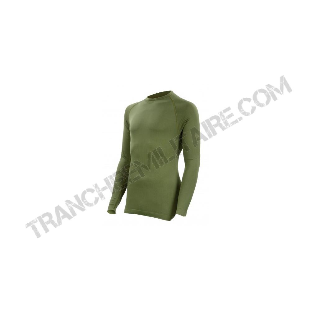 Tee-shirt thermorégulant Technical Line Summit Outdoor (vert kaki)