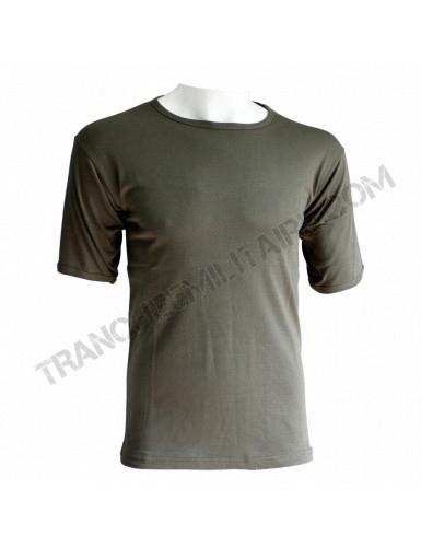 T-shirt militaire kaki (100% coton)