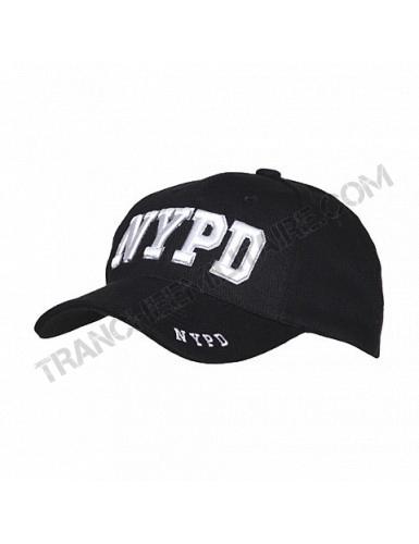 Casquette Baseball brodée NYPD (Police de New York)