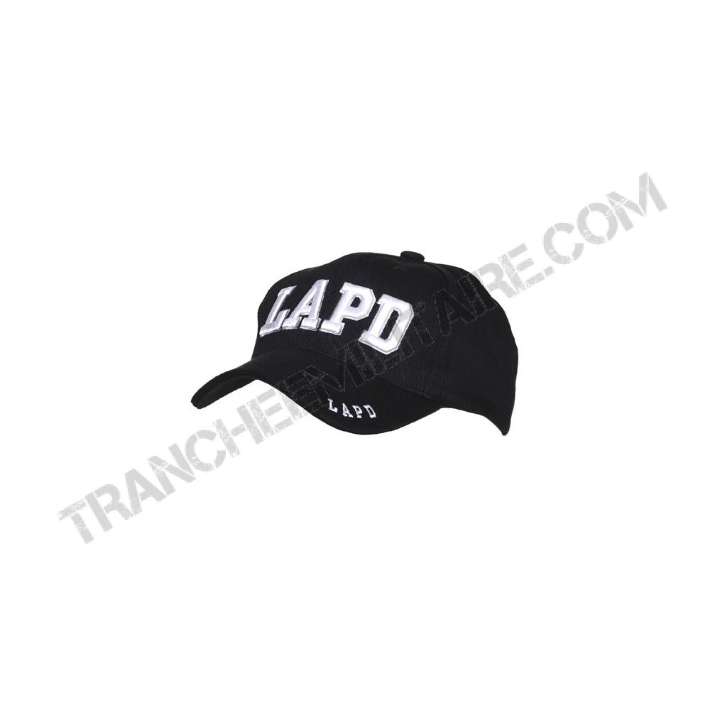 Casquette Baseball brodée LAPD (Police de Los Angeles)