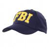 Casquette Baseball brodée FBI