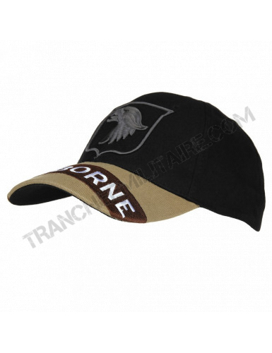 Casquette Baseball brodée Airborne