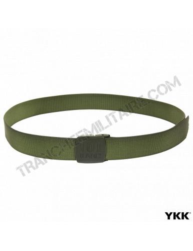 Ceinture en toile 101 Inc avec boucle YKK (vert)