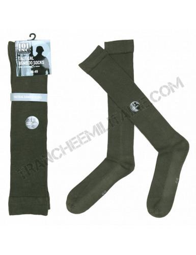 Chaussettes Tactiques en bambou (vert)