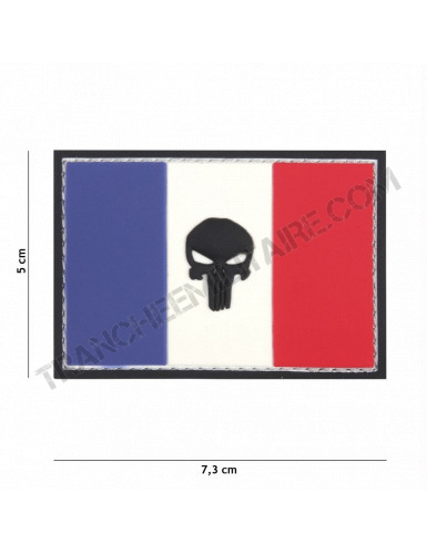 Patch 3D PVC Punisher France