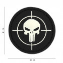 Patch 3D PVC Punisher cible (noir)