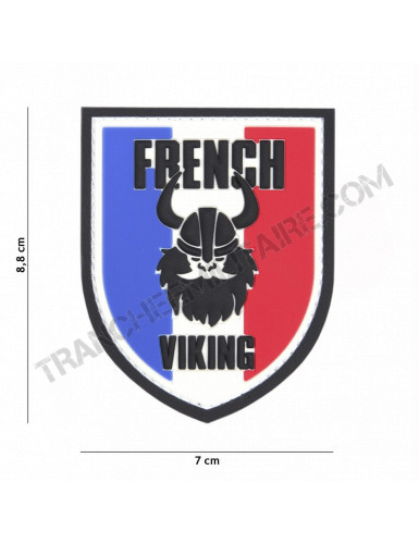 Patch 3D PVC French Viking
