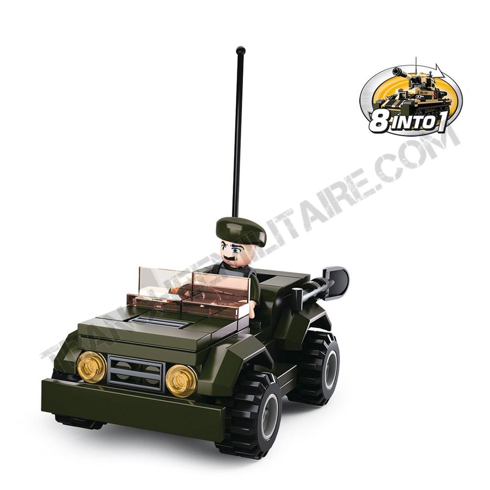 """Briques type Légo """"Jeep Reco"""""""
