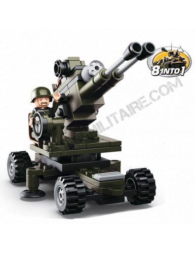 """Briques type Légo """"Artillerie"""""""