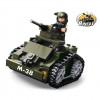 """Briques type Légo """"Mini tank"""""""
