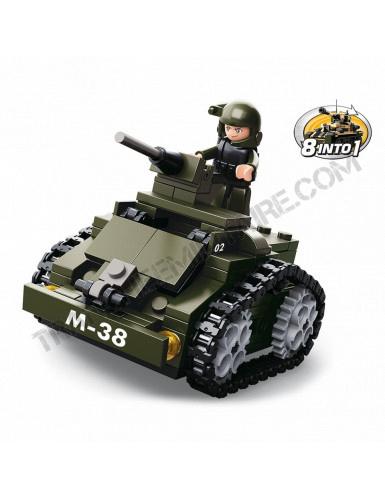 "Briques Sluban ""Mini tank"" (M38-B0587C)"