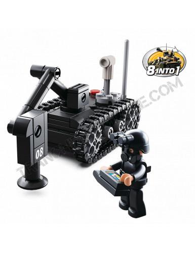 """Briques Sluban """"Robot démineur"""" (M38-B0587D)"""