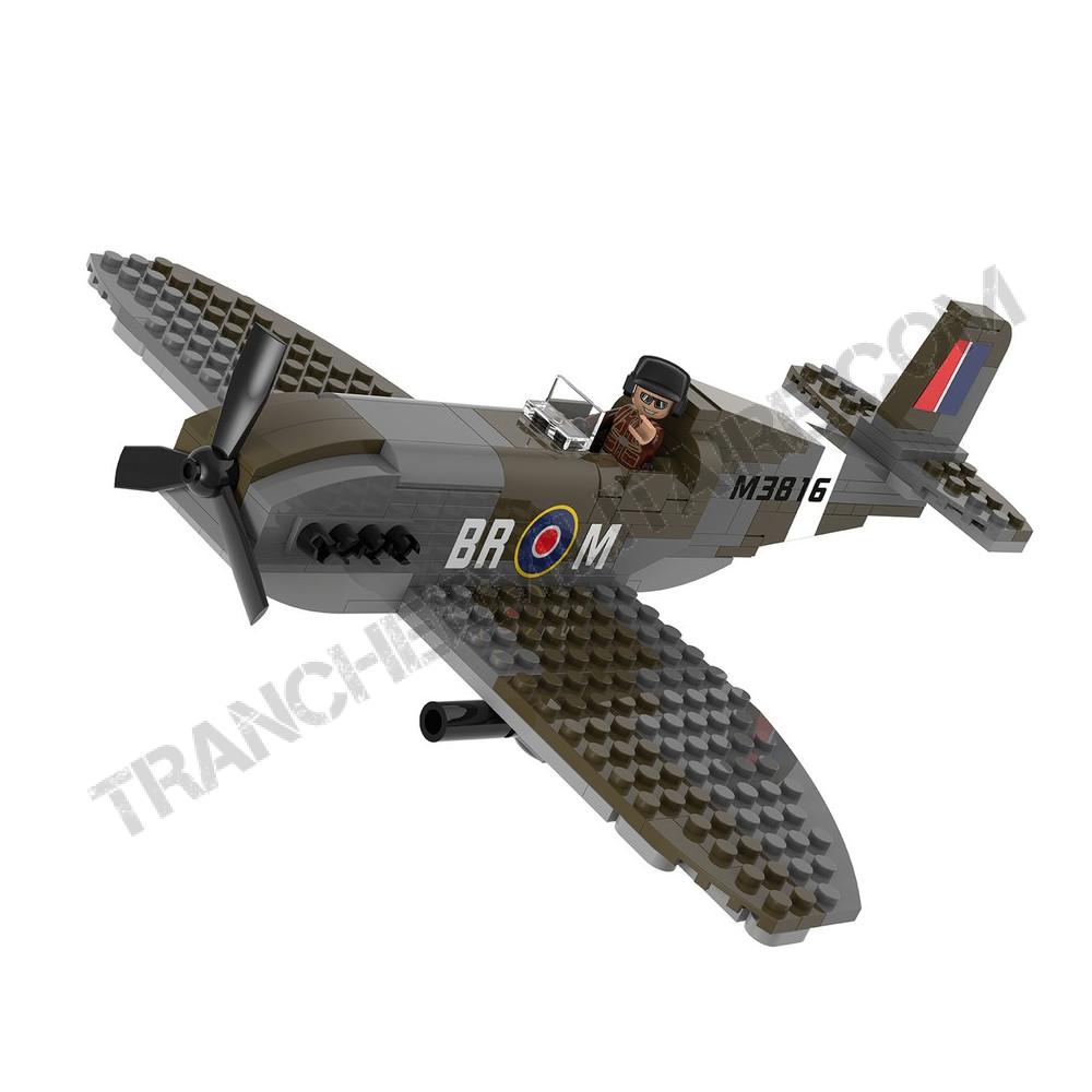 """Briques type Légo """"Spitfire"""""""