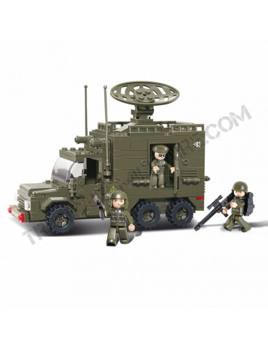 "Briques Sluban  ""Camion radar"" (M38-B0300)"