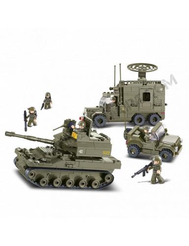 """Briques Sluban """"Véhicules militaires"""" (M38-B0308)"""