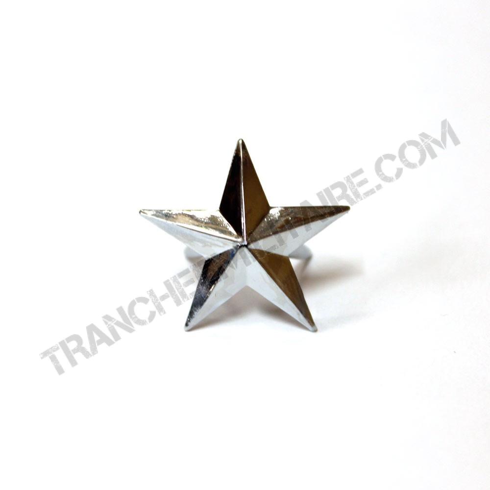 Etoile de Général argenté Armée française