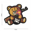 Patch 3D Terror Teddy (marron)