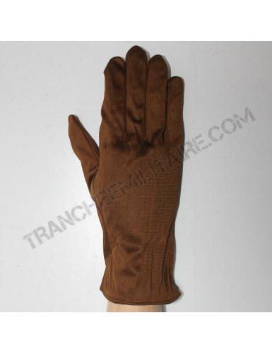 Sous-gants de pilote en soie