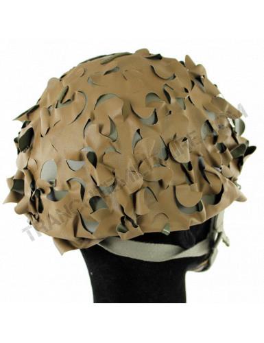 Couvre casque filet camouflé