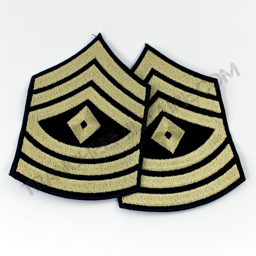 "Lot de 2 Grades US Army ""First Sergeant"" (reproduction)"