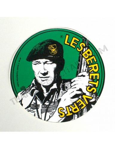 Autocollant Les Bérets Verts Armée française