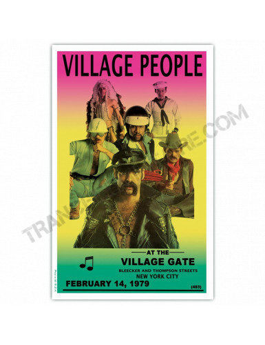 Affiche The Village People