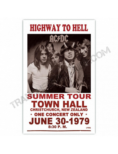 Affiche AC/DC