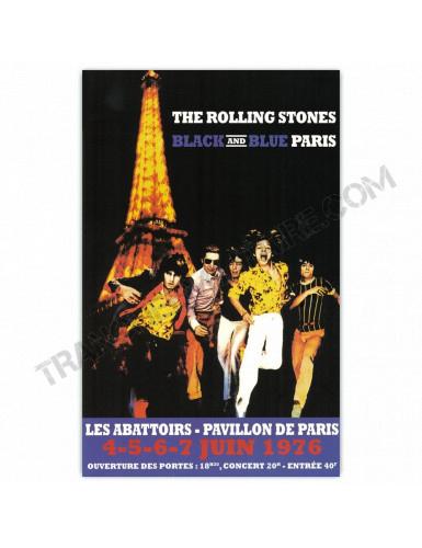 Affiche The Rolling Stones à Paris