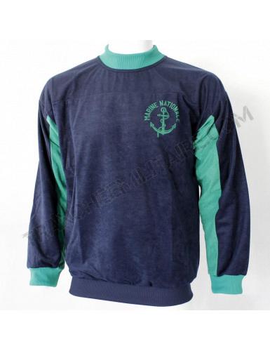 Sweat-shirt sport Marine Nationale